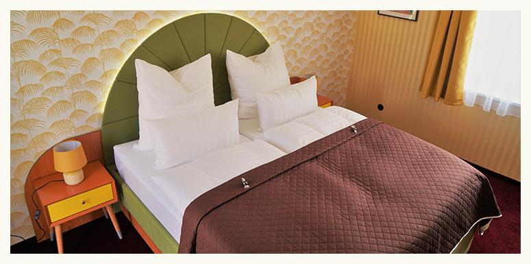 50s-ville-Motel-Bett